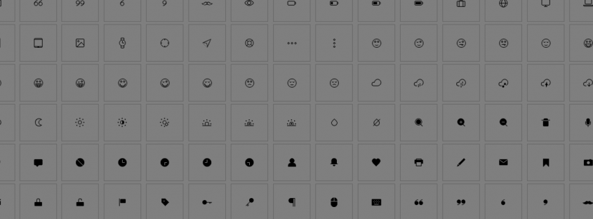 CSS Based Icons for Lightweight Websites