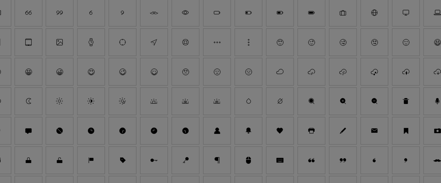 Incredible CSS Based Icons for Lightweight Web Pages!