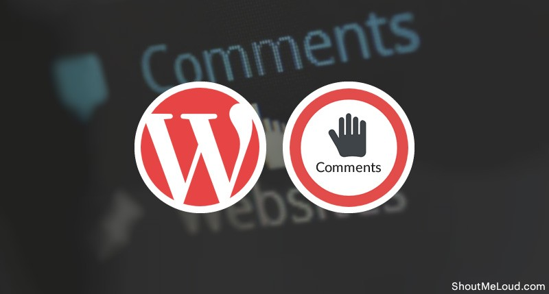 Disable Comments On WordPress Posts